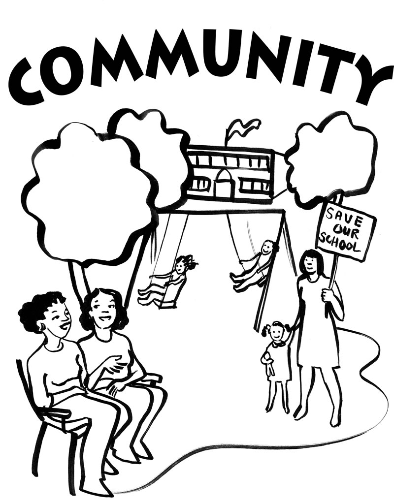 Free Coloring Pages Of Community Community Coloring Pages